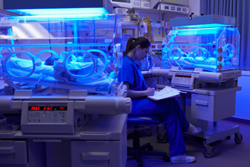Premature Babies Being Cared for in a Neonatal Intensive Care Unit