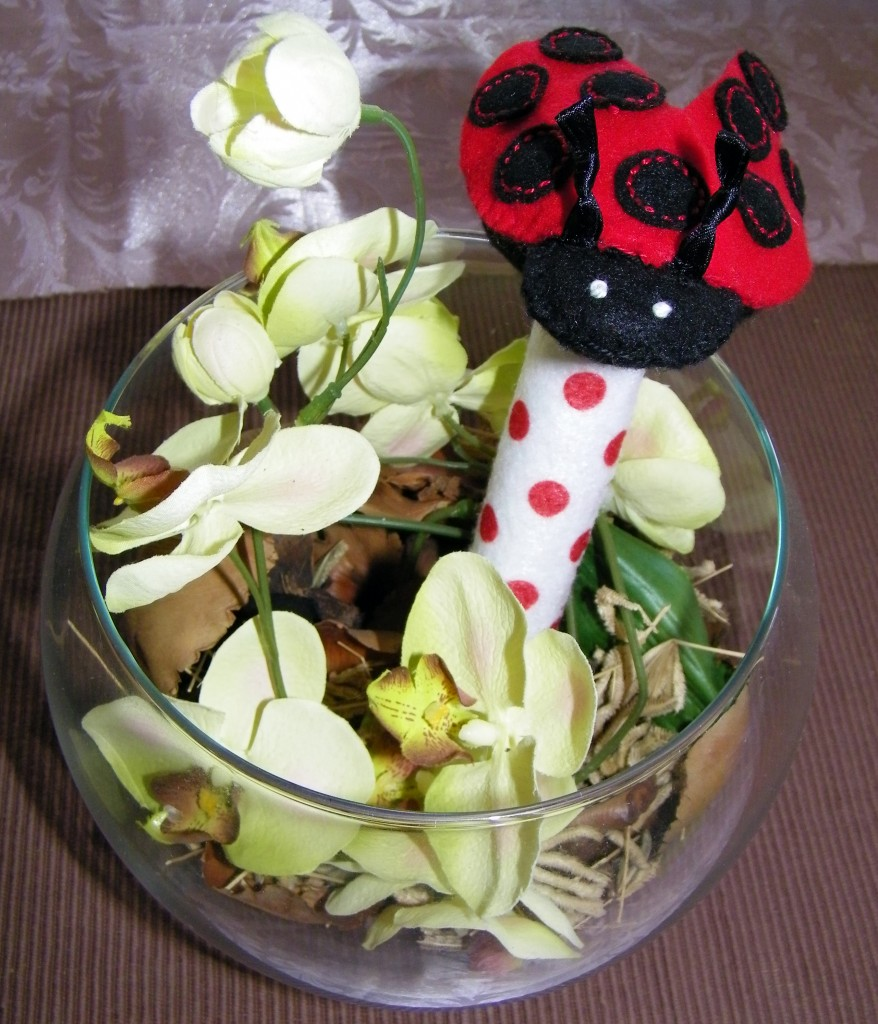 Lady Beetle Rattle
