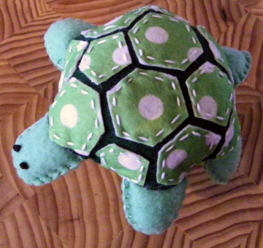 Felt Turtle Rattle