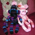 Sock Monkey Toys