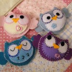 Felt Owls for Mobile