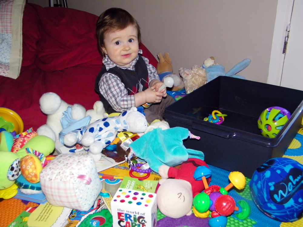 Once Again Pulling Out Every Single Toy from the Toy Box