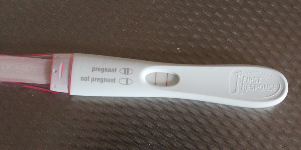 Our Second Baby - Positive Pregnancy Test