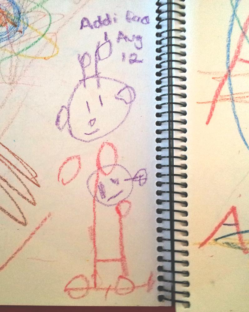 Addi's Car Drawing