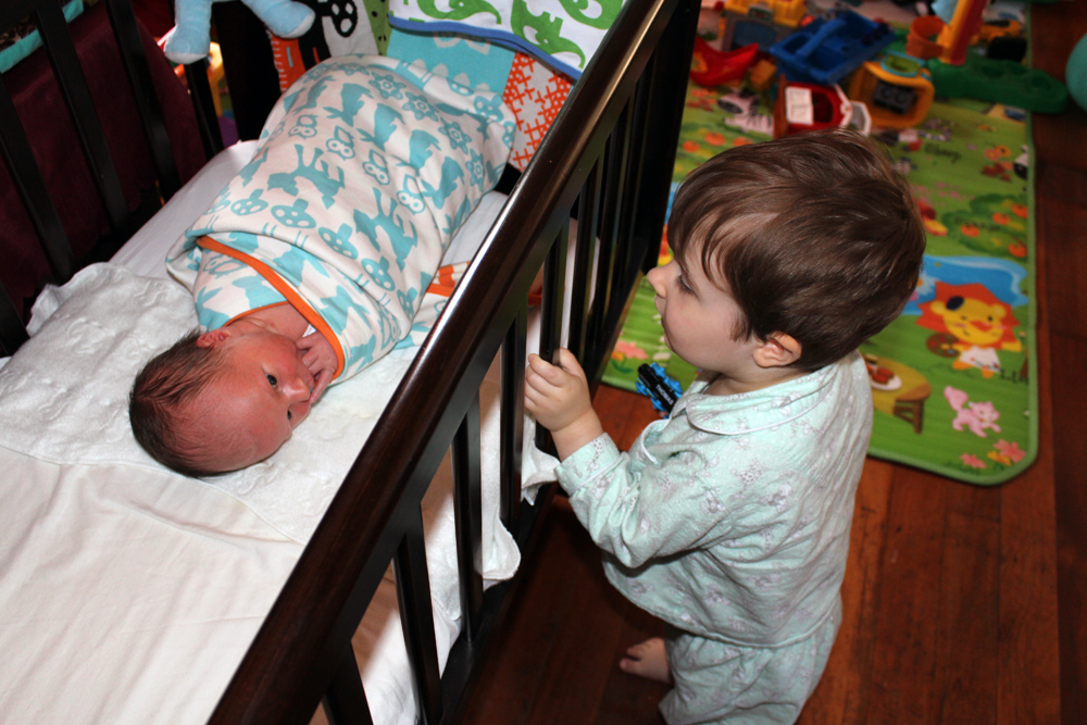 Addison Spying on his Little Brother Preston