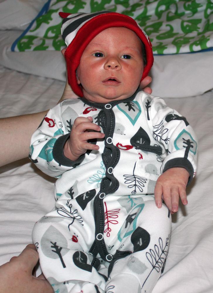 Preston at One Week Old