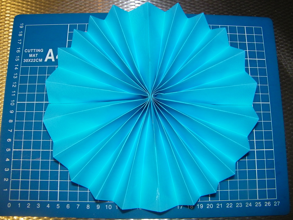 Finished Paper Wheel Fan