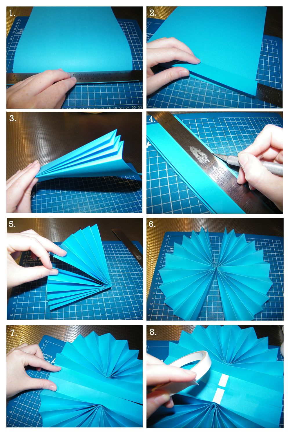 How To Make Paper Wheel Fans