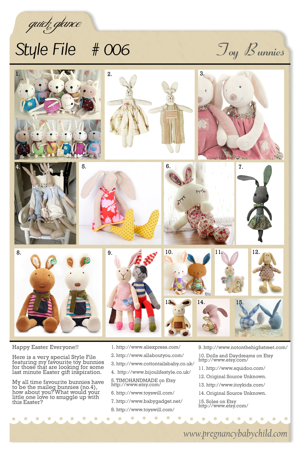 Style File 006 Toy Bunnies