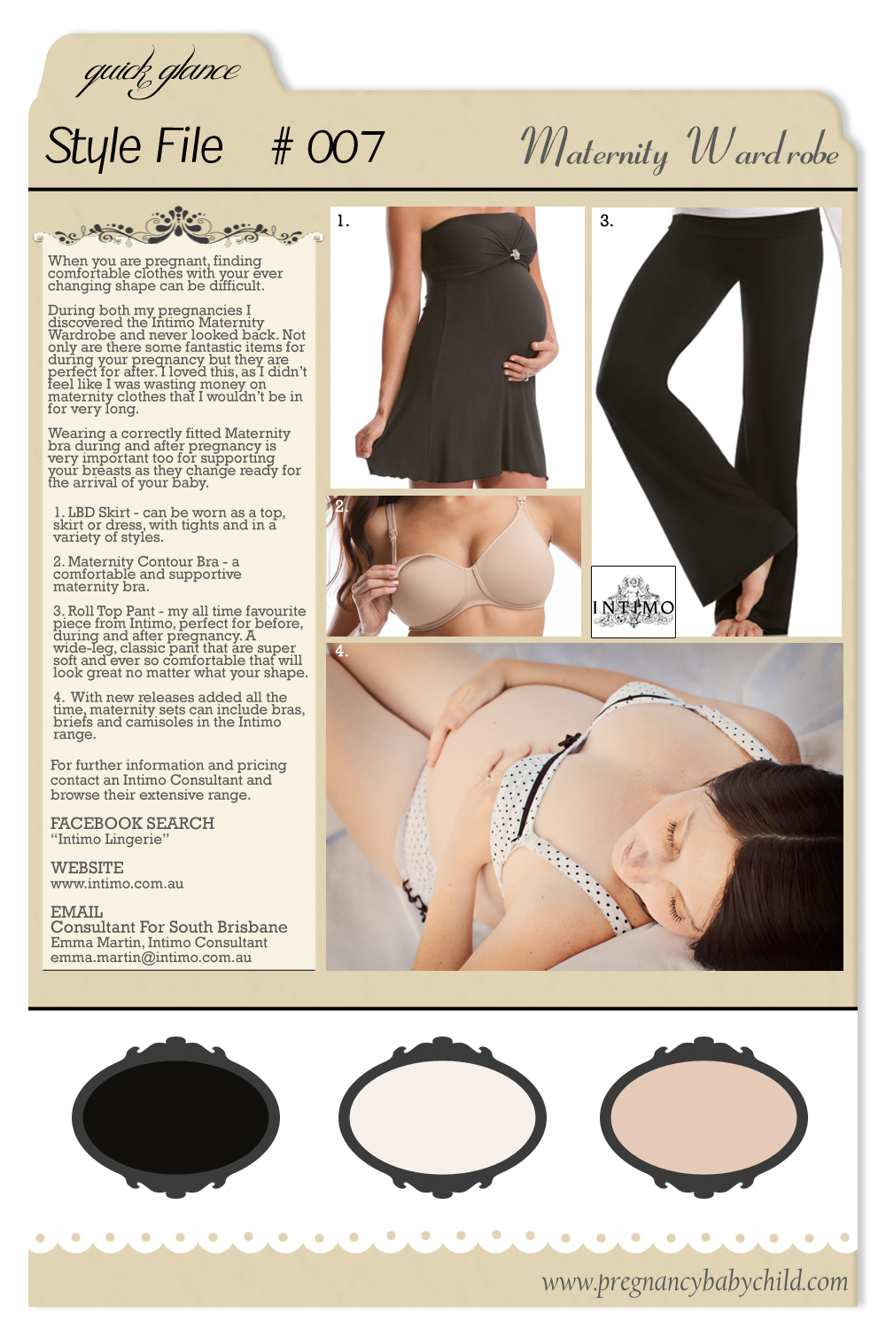 Style File 007 Intimo