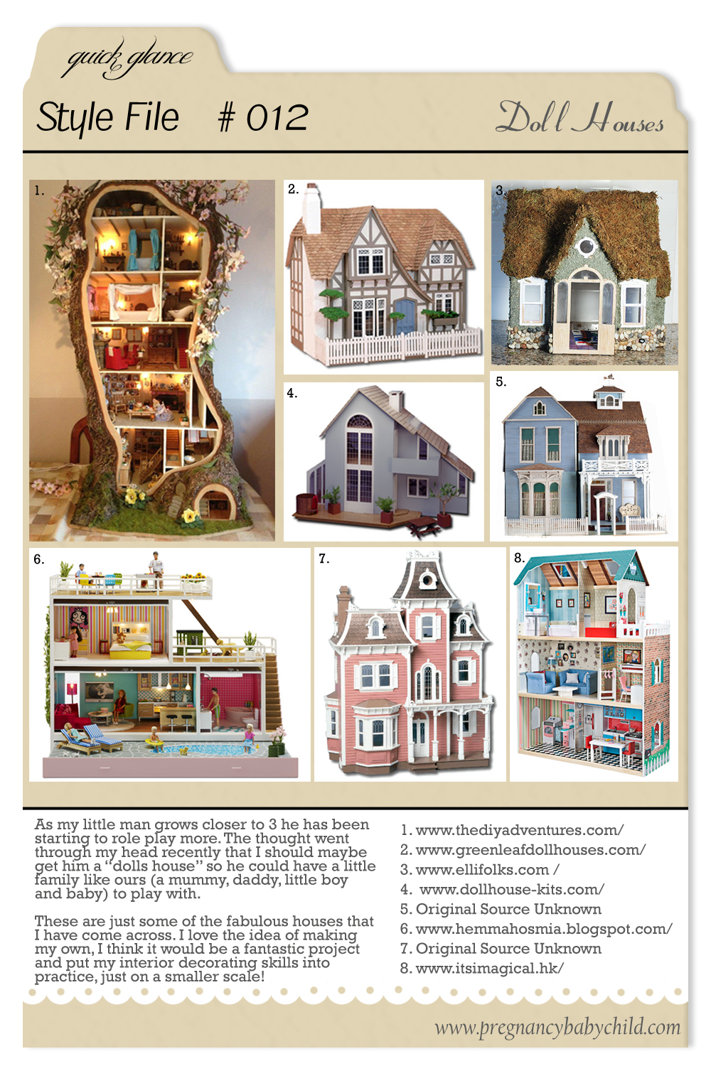 Style File 012 Dolls Houses