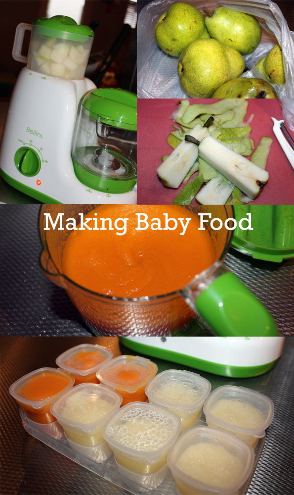 Making Baby Food