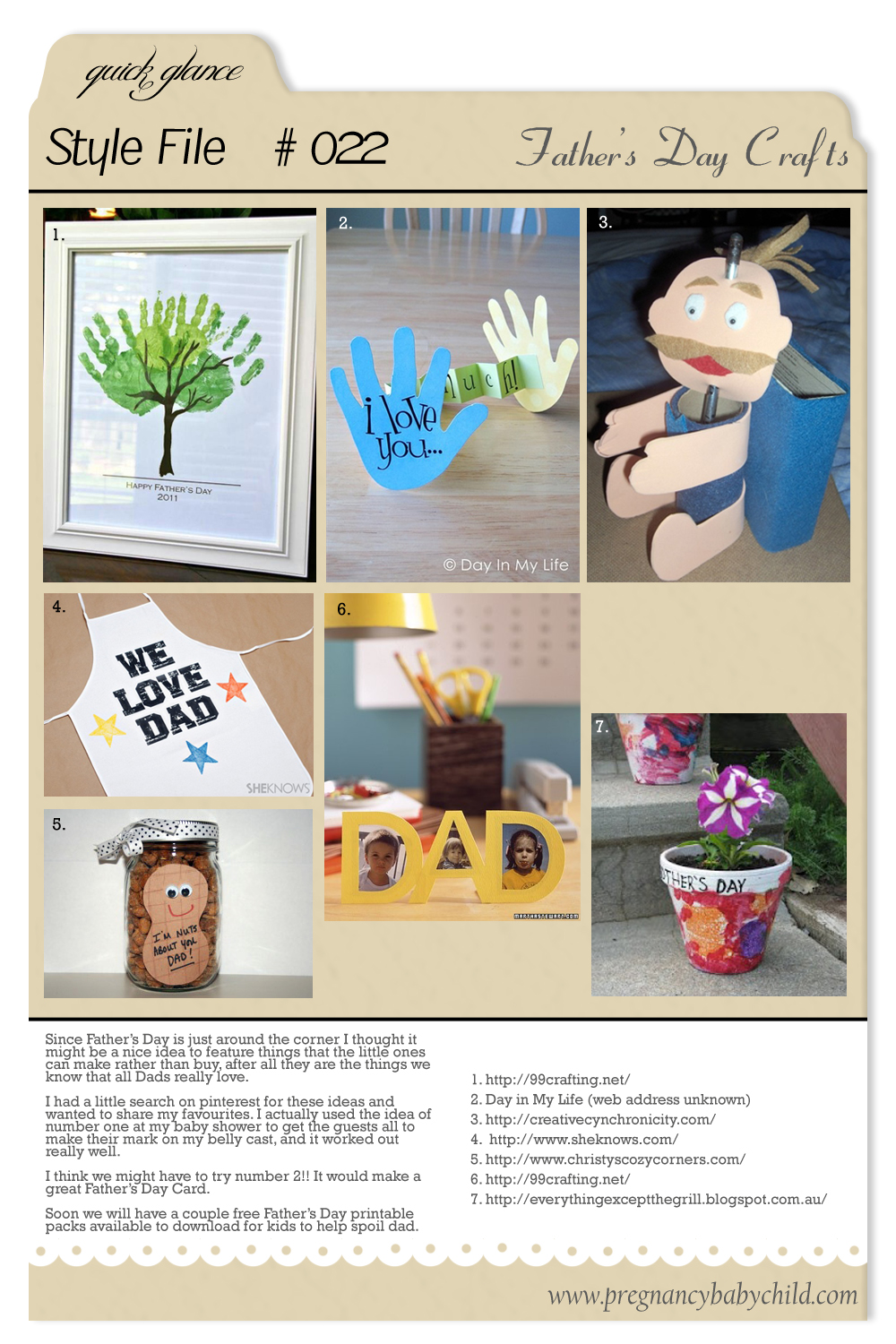 Style File 022 Father's Day Crafts