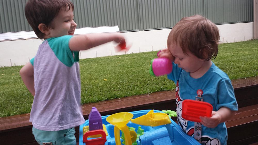 Splashing....fun?